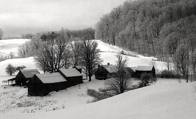 Art Print featuring the photograph Old Vermont Farm by John Scates