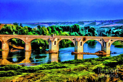 Photograph - Old Viaduct Bulgaria by Rick Bragan