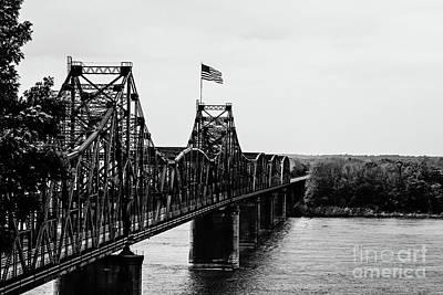 Old Vicksburg Bridge Art Print