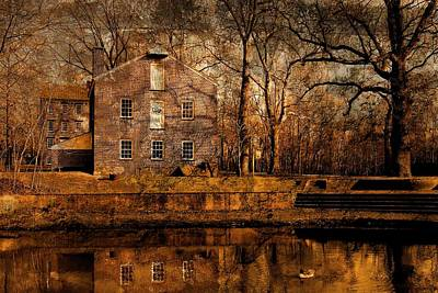 Old Village - Allaire State Park Art Print
