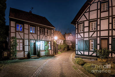 Photograph - Old Village Alley by Daniel Heine