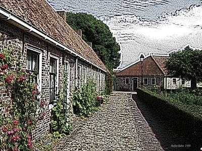 Old Village Art Print by Steve K