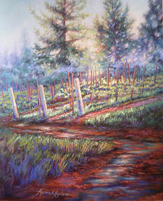 Old Vines And Fresh Rain Art Print