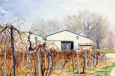 Painting - Old Vines by Brenda Beck Fisher