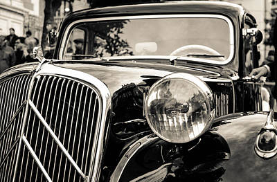 Citroen Traction Avant Art Print by Andrea Mazzocchetti