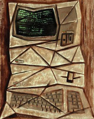 Painting - Tommervik Old Computer Art Print by Tommervik