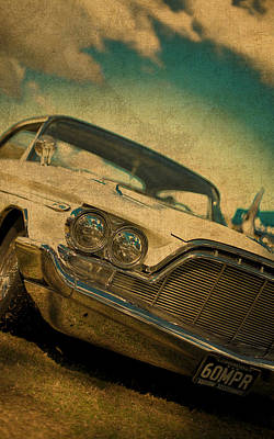 Old Vintage Dodge Desoto Art Print by Design Turnpike