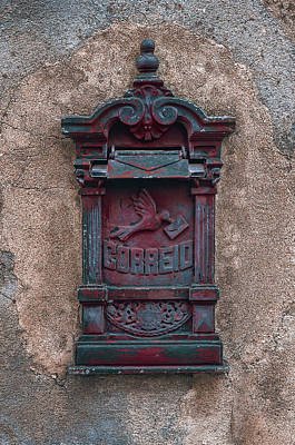 Photograph - Old Vintage Mail Box by Carlos Caetano