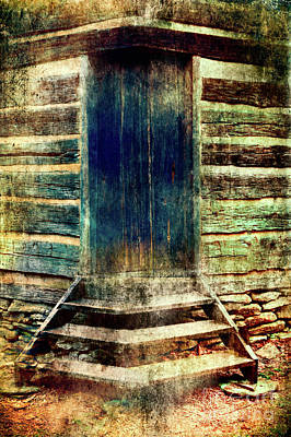 Photograph - Old Vintage Mud Cabin Fx by Dan Carmichael