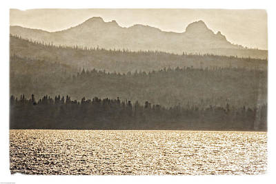 Photograph - Old Vision Of Diamond Peak by Mick Anderson