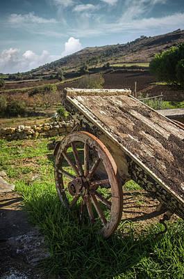Photograph - Old Wagon by Carlos Caetano