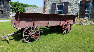 Photograph - Old Wagon Fayette State Park by Mary Bedy