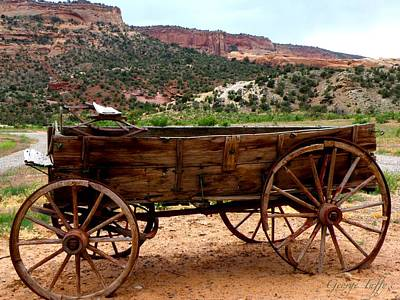 Photograph - Old Wagon by George Tuffy