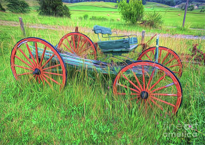 Photograph - Old Wagon by Marion Johnson