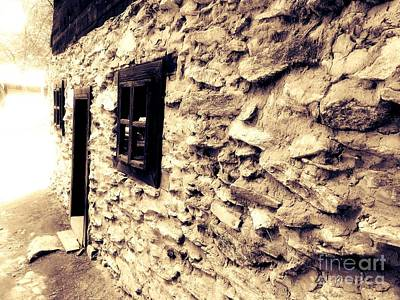 Photograph - Old Wall by Erika H