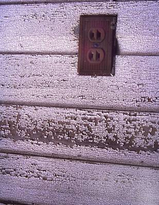 Photograph - Old Wall Outlet by Curtis J Neeley Jr