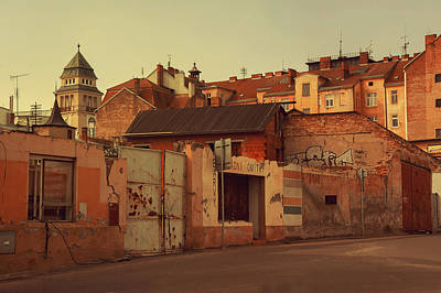 Old Walls Of Znojmo Art Print