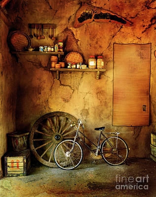 Photograph - Old Warehouse Bicycle by Craig J Satterlee