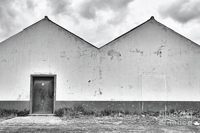 Factory Photograph - Old Warehouse Exterior by Jan Brons
