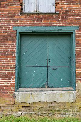 Old Warehouse Loading Door Art Print
