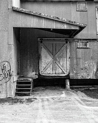 Photograph - Old Warehouse Norwich Vermont by Edward Fielding