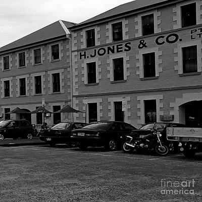 Photograph - Old Warehouses Bw by Tim Richards