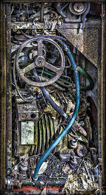 Photograph - Old Washing Machine Works by Walt Foegelle