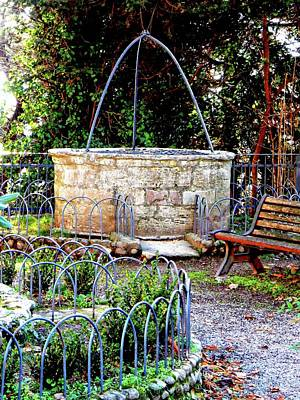 Photograph - Old Water Well Panicale Umbria by Dorothy Berry-Lound