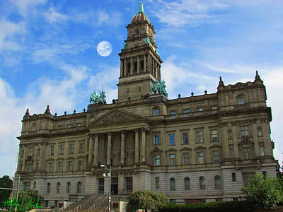 Photograph - Old Wayne County Building by Michael Rucker