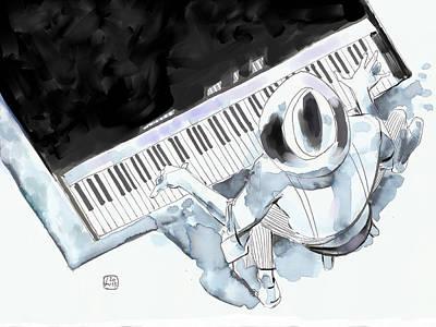 Digital Art - Old Ways, Good Tunes by Fabrizio Uffreduzzi