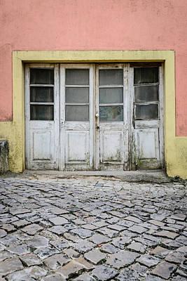 Old Door Photograph - Old Weathered Door by Marco Oliveira