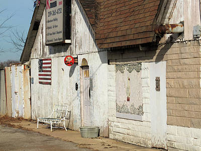 Art Print featuring the photograph Old Welding Shop by Scott Kingery