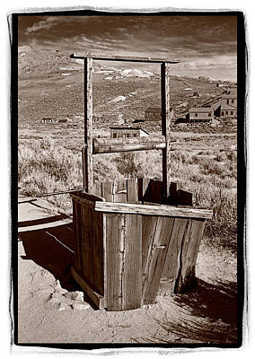 Old Well Bodie Ghost Twon California Original