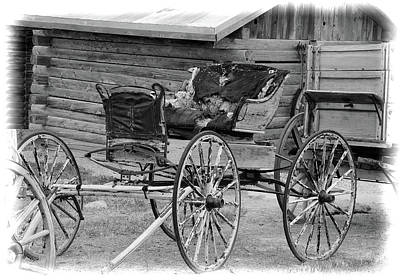 Photograph - Old West Buggy by John Freidenberg