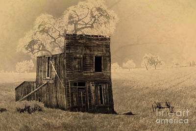 Photograph - Old West Building by Ronald Hoggard