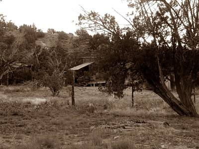 Photograph - Old West Cabin by Joseph Frank Baraba