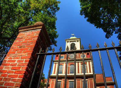 Photograph - Old West Church - Boston Ma by Joann Vitali