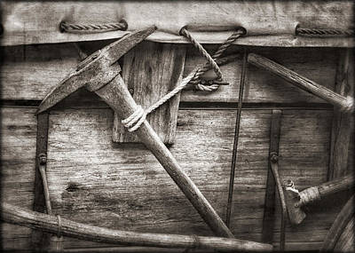Photograph - Old West Covered Wagon by Elaine Malott
