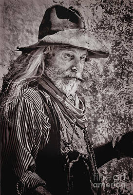Digital Art - Old West Cowboy by Georgianne Giese