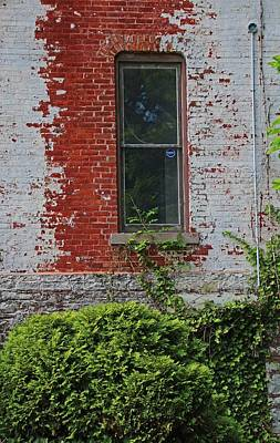 Photograph - Old West End Mary Manse College- Terrault House Window by Michiale Schneider