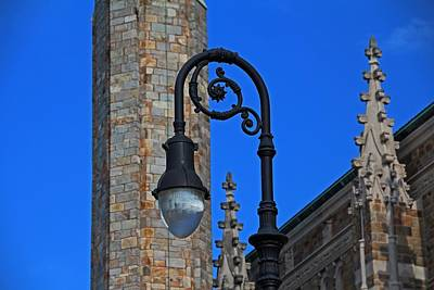 Photograph - Old West End Our Lady Queen Of The Most Holy Rosary Cathedral Light- Horizontal by Michiale Schneider
