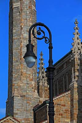 Photograph - Old West End Our Lady Queen Of The Most Holy Rosary Cathedral Light- Vertical by Michiale Schneider