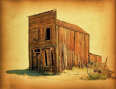 Photograph - Old West by Steve McKinzie