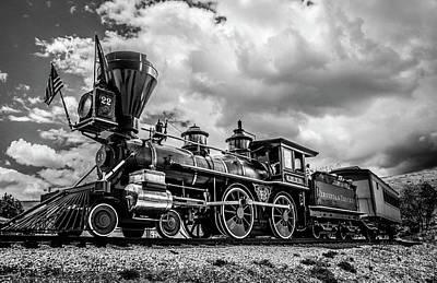 Old West Train Art Print