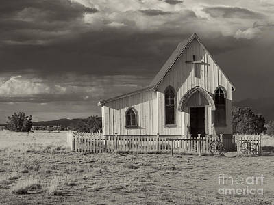 Photograph - Old Western Church Santa Fe New Mexico by Pd