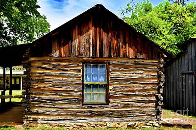 Photograph - Old Western Era Building 12318 by Ray Shrewsberry