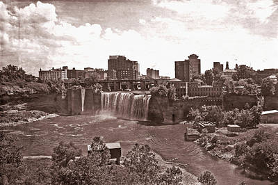 Photograph - Old Western High Falls by Aimee L Maher Photography and Art Visit ALMGallerydotcom