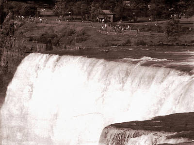 Photograph - Old Western Niagara Falls 10 by Aimee L Maher ALM GALLERY