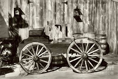 Photograph - Old Western Wagon # 2 by Mel Steinhauer