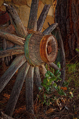 Photograph - Old Wheel by Thomas Hall